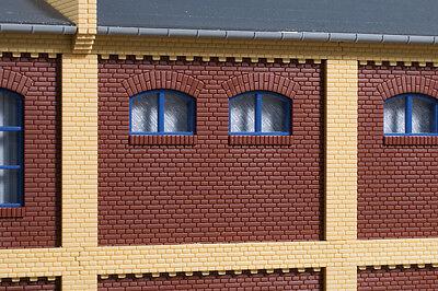 Auhagen 80524 Scala H0, Muro 2532a Rosso # Nuovo In Scatola Originale # Design Moderno