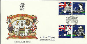 AUSTRALIA 1988 BI-Centenary CRICKET SHAKESPEARE GRACE MCC Gabba FDC (No 5 of 10)