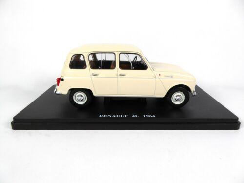 R4-1//24 Salvat Voiture miniature Diecast model car E004 Renault 4L 1964