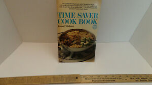 Time Saver Cook Book From Pillsbury - Paperback - Vintage 1967!!