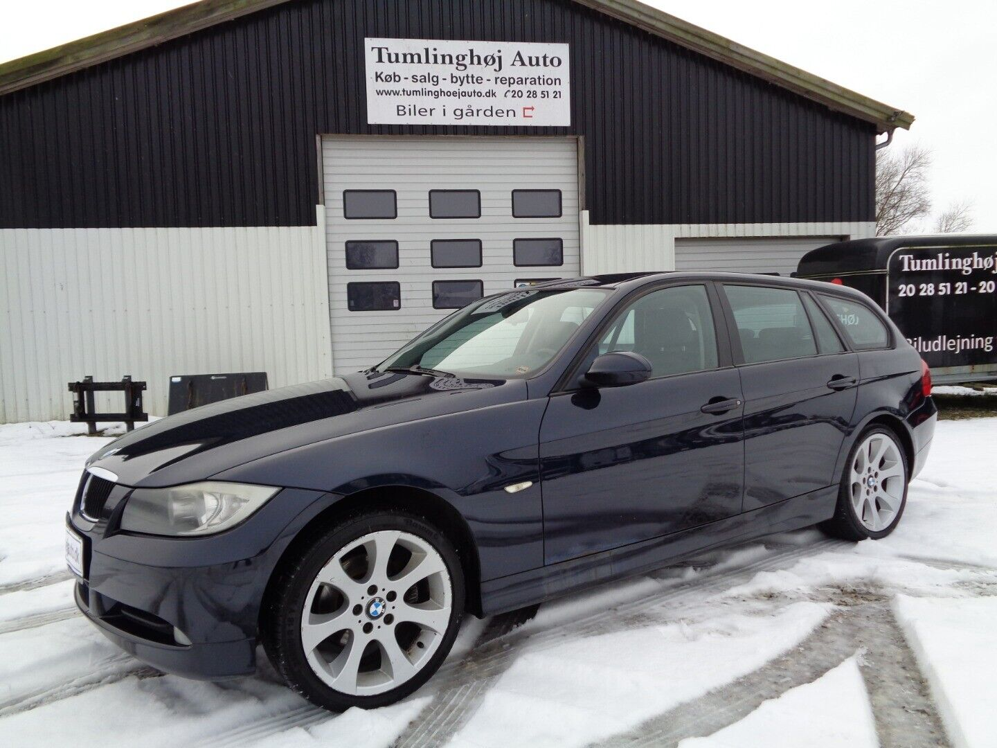 BMW 320i 2,0 Touring 5d - 75.000 kr.