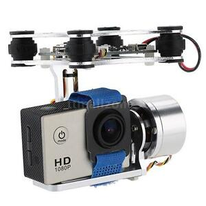 Silver-CNC-FPV-Quadcopter-BGC-2-Axis-Gimbal-w-Controller-for-Walkera-X350-H0Z9