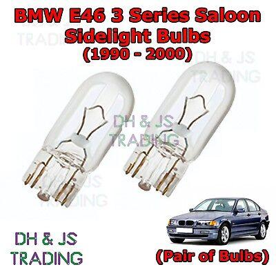 BMW 3 Series E46 E36 X5 Canbus Xenon White LED Sidelights Bulbs Parking Lights