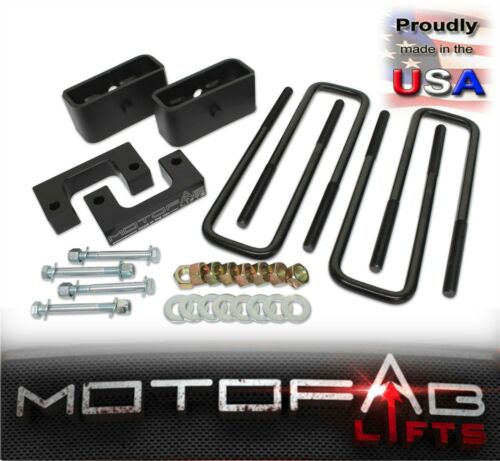 """2/"""" Front and 1/"""" Rear Leveling lift kit for 2007-2019 Chevy Silverado Sierra GMC"""