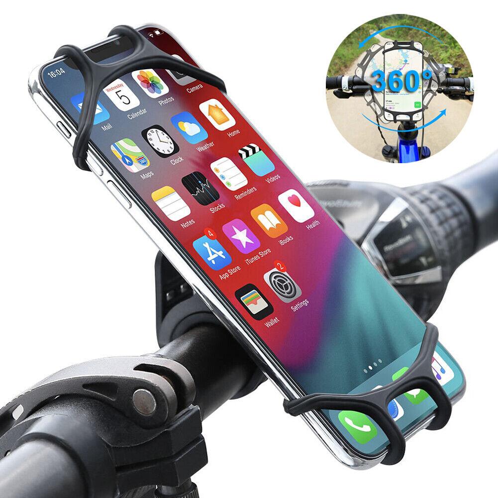 360 ° Mobile Phone Holder Bicycle Smartphone Holder Bike Holder iPhone Samsung Handlebar