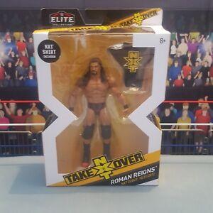 Roman-Reigns-Elite-NXT-Series-3-New-Boxed-WWE-Mattel-Wrestling-Figure