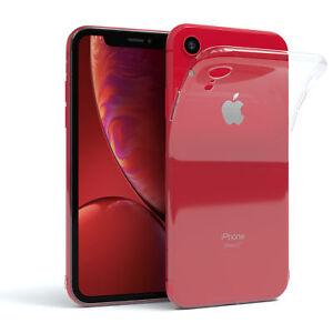EAZY-CASE-Apple-iPhone-XR-Huelle-Silikon-Cover-Handy-Tasche-Slim-Transparent