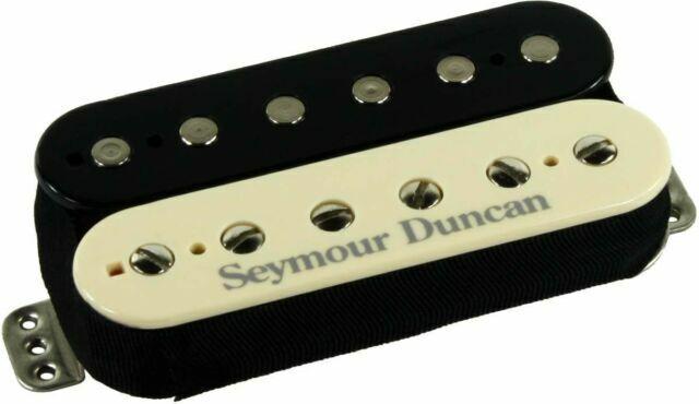 White Seymour Duncan TB-59 Trembucker F-Spaced PAF /'59 Model Bridge Pickup