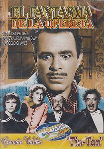 DVD-El-Fantasma-De-La-Opereta-NEW-German-Valdes-Tin-Tan-FAST-SHIPPING