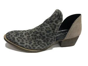 Diba True Leopard Print Ankle Boot