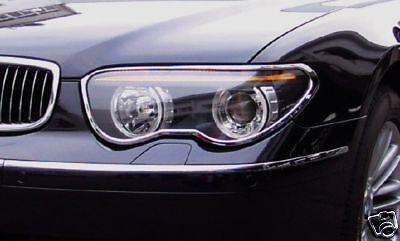 Brand-new CHROME TAILLIGHT TRIM fits 2002-2005 BMW 745i 745Li E65 7-SERIES