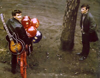 "Beatles Tony Sheridan Stuart Sutcliffe 14 x 11"" Photo Print"