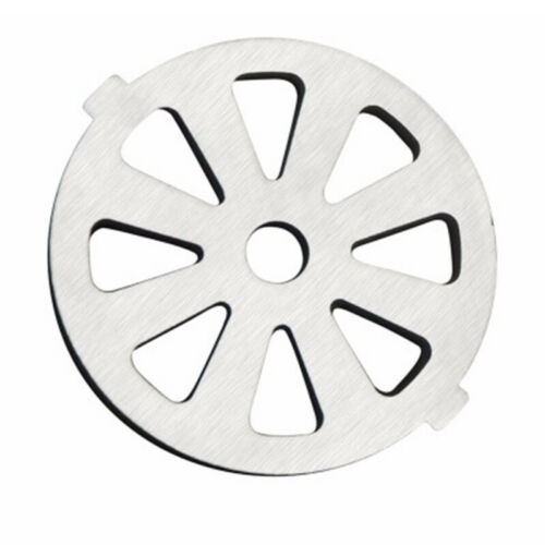 Household Meat Grinder Hole Plate Stainless Steel Silver Grinder Accessories Use