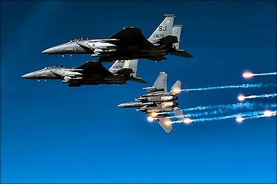 Poster, Many Sizes; Air Force F-15E Strike Eagle F-15, 335Th Fighter Squadron  N