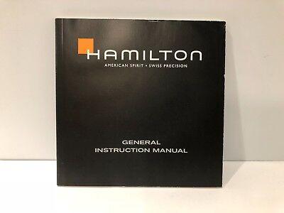 Hamilton - General Anleitung Manuell - Für Uhren Uhren - All Sprachen Ausgezeichnete (In) QualitäT