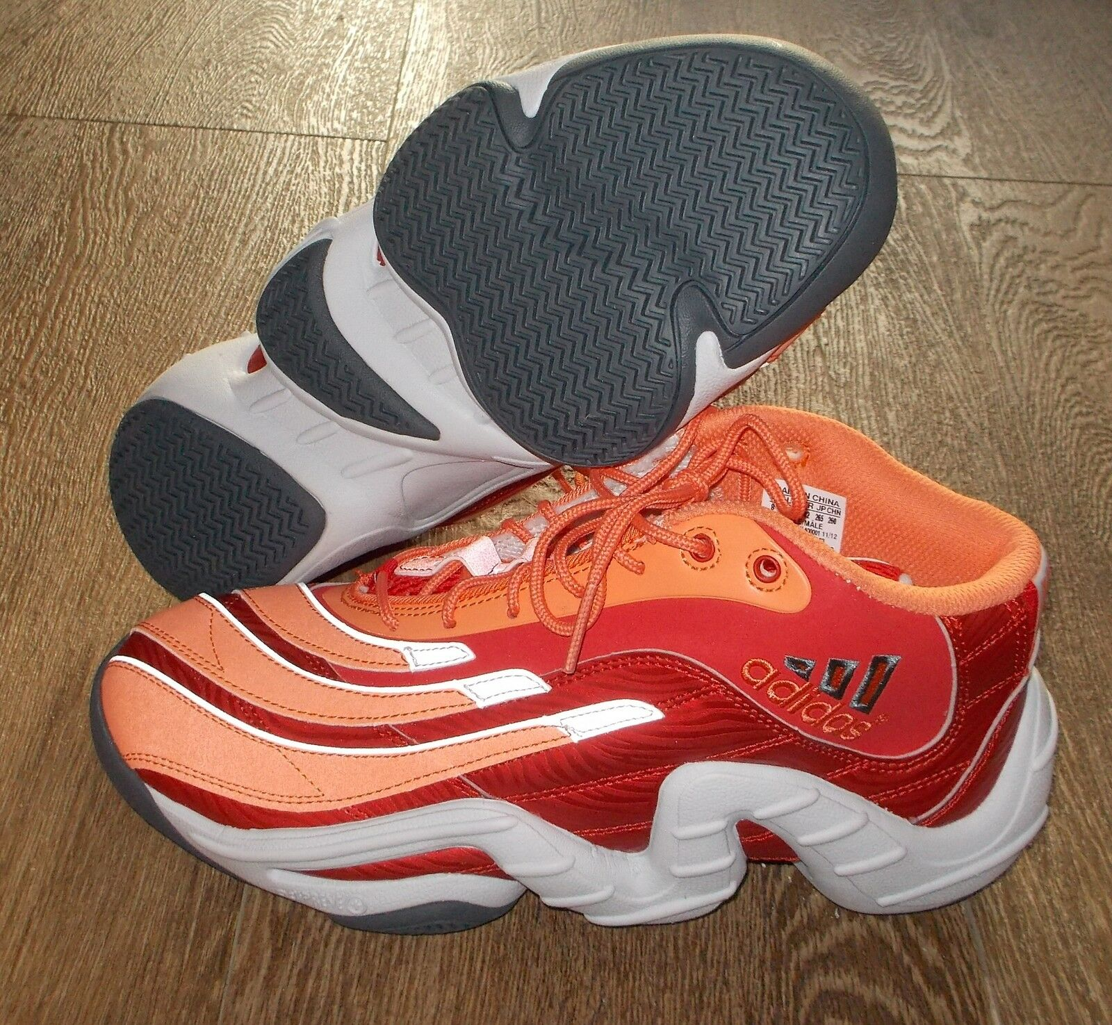 Nuove adidas vera baskerball limited Uomo 8,5 arancione pazzo limited baskerball 6bbd56