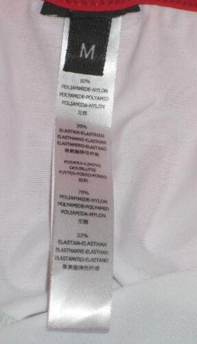 NUOVA linea uomo EX LA PERLA Nero nuoto pantaloncini Trunks M L
