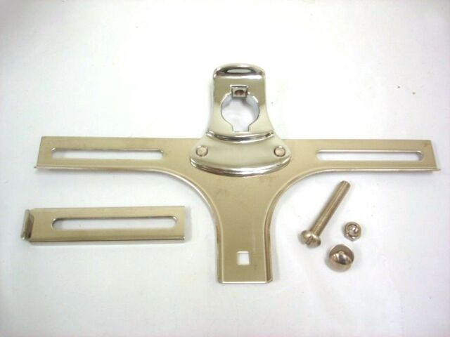 1932 Ford Car Front License Plate Bracket '32 Stainless
