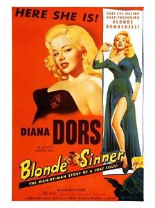 A3 Man Bait Diana Dors Movie wall Home Posters Retro Art #10