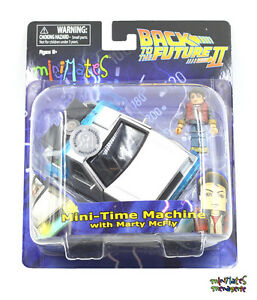 Retour-vers-le-futur-MINIMATES-MINI-Time-Machine-avec-Marty-McFly