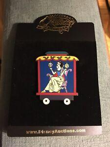 Disney Auction Snow White Christmas Day Train Pin Le 100 Rare Black Prototype Ebay