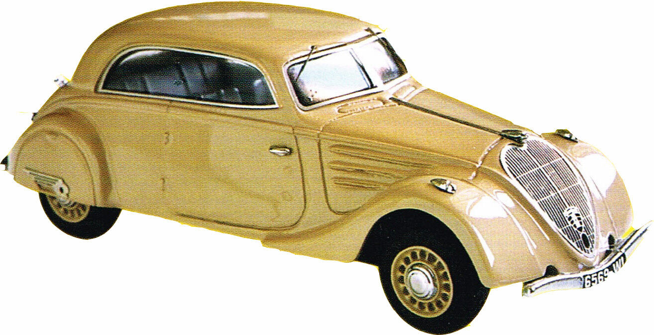 Kit for miniature auto ccc  peugeot 402 coupe ref 167