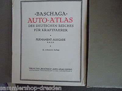 21261 Baschaga Auto Atlas Des Deutschen Reiches Für Kraftfahrer Permanent 101 Ka