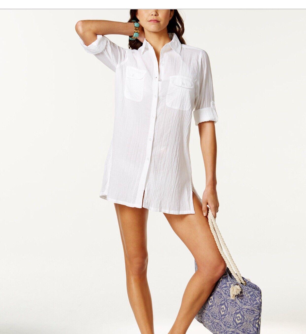 Polo Ralph Lauren Semi Sheer Tunic Cover Up Size M
