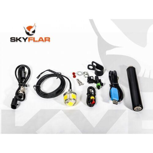 Nouveau 5123cm Skyflar 12V Led Multifonctionnel Paramoteur Stroboscope