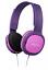 Indexbild 4 - Philips Kinder Kopfhörer Pink SHK2000 Bügelkopfhörer mit Kabel Audi Hifi