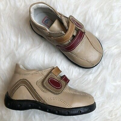New Baby Boy White Shinny Leather shoes with Laces or Loop /& Hook Size 3-8 Mexic