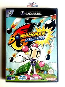 Bomberman-Generation-Game-Cube-Nintendo-Videojuego-Complet-Mint-State-Neuf-Spa