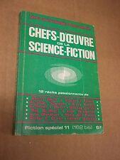 """REVUE """"Chefs-d'oeuvre de la science-fiction"""" (1967) 12 RECITS PASSIONNANTS"""