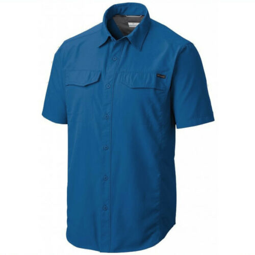"New Mens Columbia /""Silver Ridge/"" Vented Omni-Wick Short Sleeve Shirt Big/&Tall"