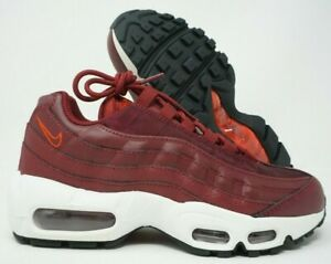 Nike-Air-Max-95-Womens-Running-Shoes-Team-Red-White-Black-307960-605-Size-6