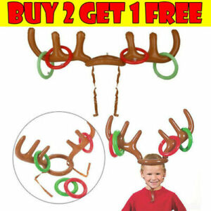 Christmas-Party-Game-Inflatable-Reindeer-Antler-Hat-Ring-Toss-Toy-Gift-for-Kids