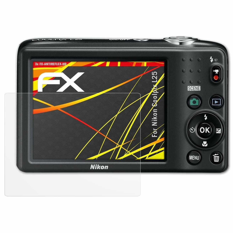 Protector de pantalla 6x para Nikon Coolpix w100 lámina protectora claramente protector de pantalla