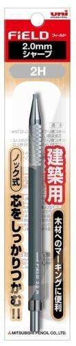 Mitsubishi JAPAN uni FIELD 2.0mm 2H Mechanical Pencil Japanese Drafting Pen