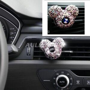 Luxury-Custom-Car-Logo-perfume-Diamond-Air-conditioner-Outlet-clip-decoration