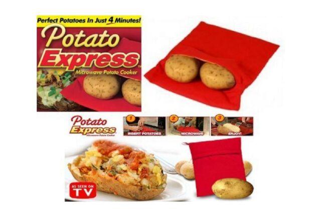 potato express - Housse sac cuisson rapide pomme de terre micro-ondes Vu à la TV