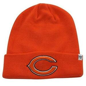 Details about NFL Officially Licensed Chicago Bears  47 Brand Cuffed Logo Beanie  Hat Cap Lid S 52d6959c957