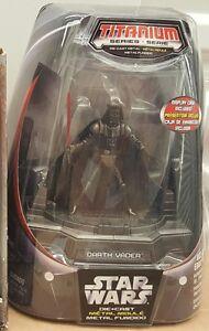 """Star Wars - Titanium Series (Diecast) - Darth Vader 3.75"""" Titanium Figure"""