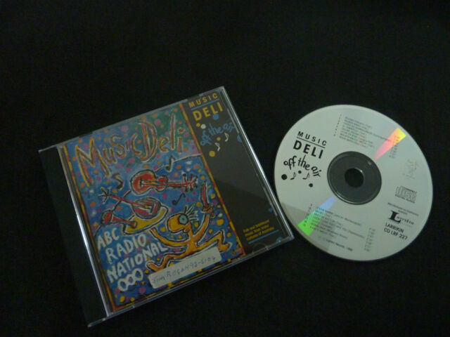 MUSIC DELI OFF THE AIR ULTRA RARE AUSSIE CD! ABC RADIO NATIONAL ULURU
