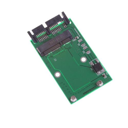"""Mini Pcie Pci-e mSATA SSD to 1.8/"""" Micro SATA Adapter Converter Card RKCA"""