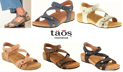 Taos Leather comfort Sandals on wedge Taos Shoes Spain Trulie 9 colours | eBay