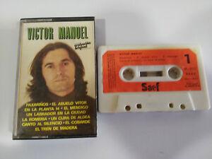 VICTOR-MANUEL-EXITOS-CASSETTE-TAPE-CINTA-SAEF-1978-PAPER-LABELS
