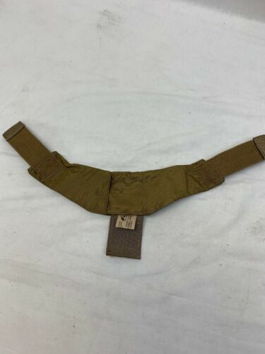 Eagle Industries Coyote CIRAS Armor Carrier Throat Guard Protector USMC FSBE
