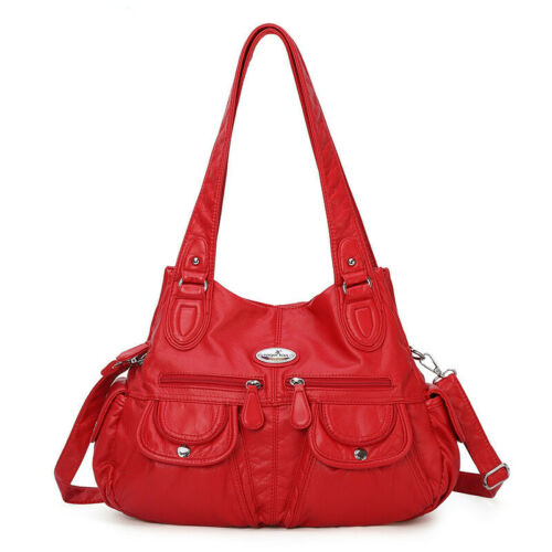 Shopper Kunstleder Tasche Handtasche Damentaschen Schultertasche Umhängetasche