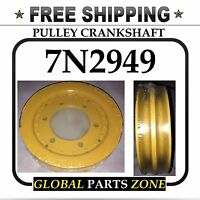 7n2949 2645887 7n-2949 264-5887 Pulley Crankshaft For Caterpillar Free Shipping