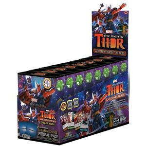 Dice-Games-Dice-Masters-The-Mighty-Thor-Draft-Pack-Display-of-8
